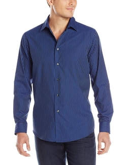 Van Heusen - Night Stripes Button Up Shirt