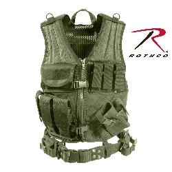 Rothco - Cross Draw MOLLE Tactical Vest