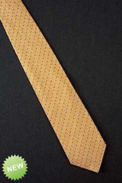 Ermenegildo Zegna  - Golden Yellow Silk Tie
