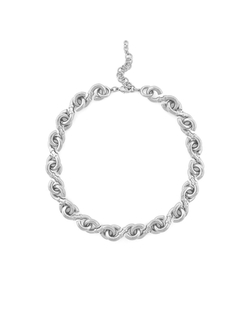 Cole Haan - Logo Link Collar Necklace