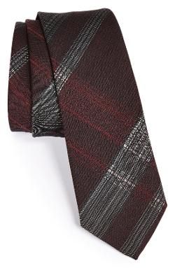 John Varvatos Collection - Woven Silk Blend Tie
