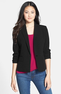 Anne Klein - One-Button Blazer