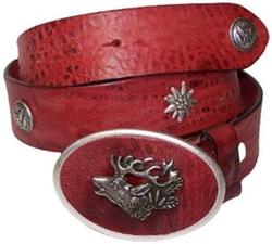 Fronhofer - Traditional Natural Leather Belt