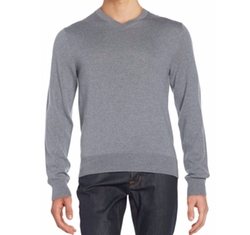 Saks Fifth Avenue  - Merino Wool V-Neck Sweater