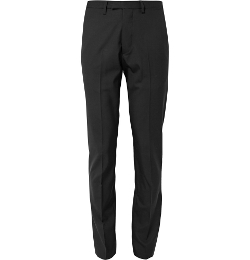 Raf Simons - Slim-Fit Wool And Mohair-Blend Trousers