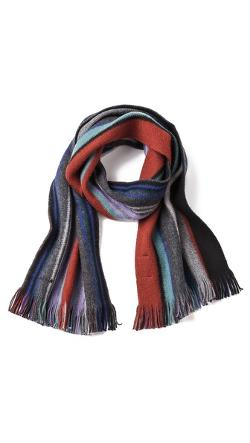Paul Smith - Reversible Stripe Scarf
