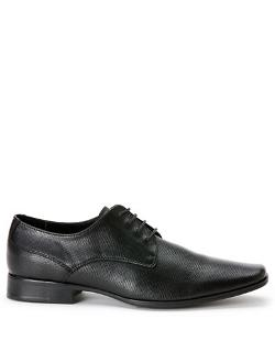 Calvin Klein  - Brodie Embossed Leather Oxfords
