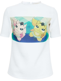 Awake - Character Print T-Shirt