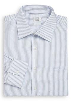 IKE By Ike Behar  - Regular-Fit Striped Cotton Dress Shirt