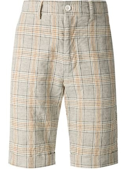 Engineered Garments  - Plaid Bermuda Shorts