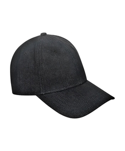 Gents - Black Denim Cap