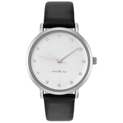 Wristology  - Olivia Womens Chunky Silver Boyfriend Watch