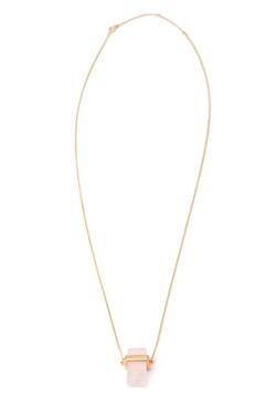 Forever21 - Faux Stone Pendant Necklace