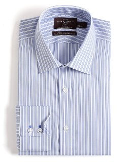 Black Brown 1826 - Slim Fit Cotton Dress Shirt
