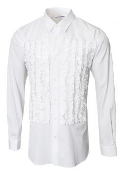 Comme Des Garcons - Frill Detail Cotton Shirt