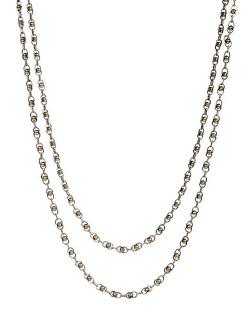 Lucky Brand  - Two-Tone Double Layer Necklace