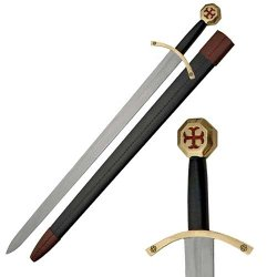 Top Swords - Medieval Knight Of Templar Sword