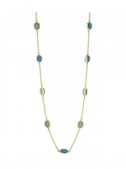 Karen Kane - Baja Station Reversible Wrap Necklace
