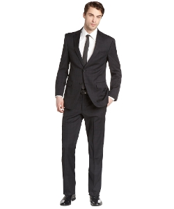 Tommy Hilfiger - Plaid Worsted Wool Nathan Suit
