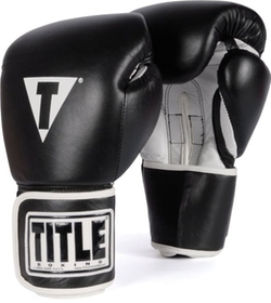 Title Boxing  - Pro Style Leather Training Gloves