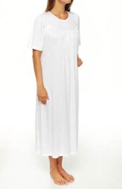Calida  - Soft Cotton Short Sleeve Night Shirt Gown