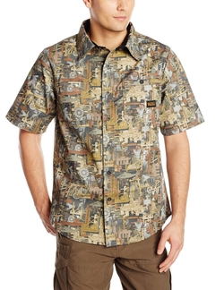 Walls - Cape Back Short Sleeve Shirt