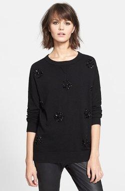 Kate Spade New York - Embellished Sweater