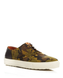 H By Hudson - Vale Suede Camo Sneakers