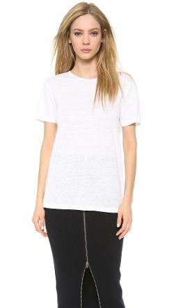 T by Alexander Wang  - Crew Neck Tee