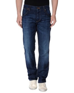 Wrangler - Faded Effect Denim Pants