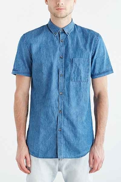 Urban Outfitters - Zanerobe Seven Foot Denim Shirt