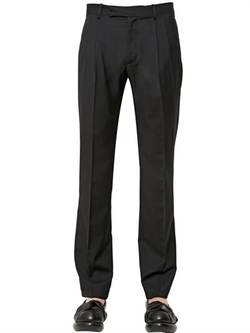 J.W.Anderson  - Double Pleated Wool Gabardine Pants