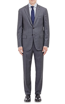Isaia - Sirio Plaid Two-Button Suit