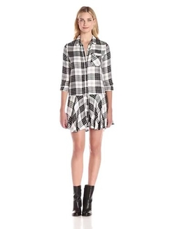 Sam Edelman - Sophie Plaid Shirtdress