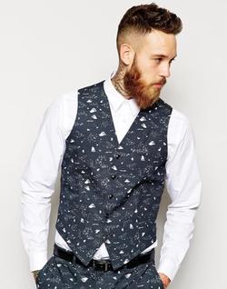 Asos - Condensation Print Vest