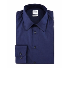 Armani Collezioni  - Solid Long-Sleeve Dress Shirt
