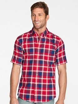 Pendleton - Short-Sleeve Fitted Seaside Shirt