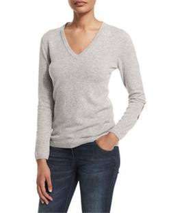 Brunello Cucinelli - V-Neck Cashmere Sweater