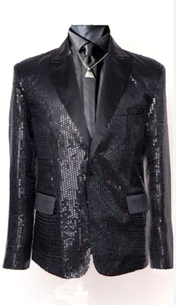Trust Costume - Daft Punk Sparking Sequin Jacket