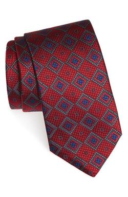 Ermenegildo Zegna - Medallion Woven Silk Tie