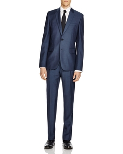 Hugo - Herringbone Extra Slim Fit Suit