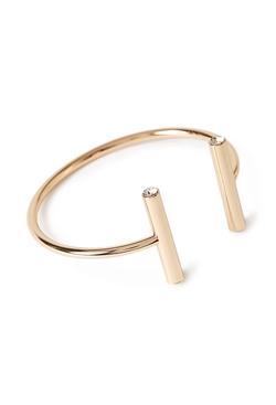 Forever 21 - Rhinestone Linear Cuff Bracelet