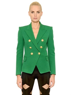 Balmain - Stretch Cotton Gabardine Jacket