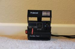 Polaroid  - One Step Flash Camera