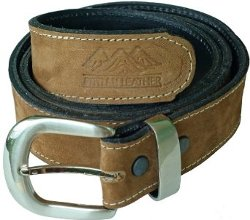 Atitlan Leather - Suede Leather Money Belt