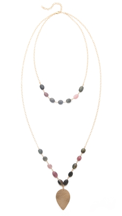 Heather Hawkins  - Layered Lotus Necklace