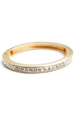 Zenzii - Clear Gemstone Bangle