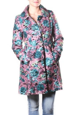Freeway Apparel - Floral Coat