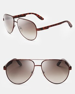 Carrera - Semi Matte Aviator Sunglasses