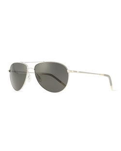 Oliver Peoples - Benedict Basic Polarized Aviator Sunglasses